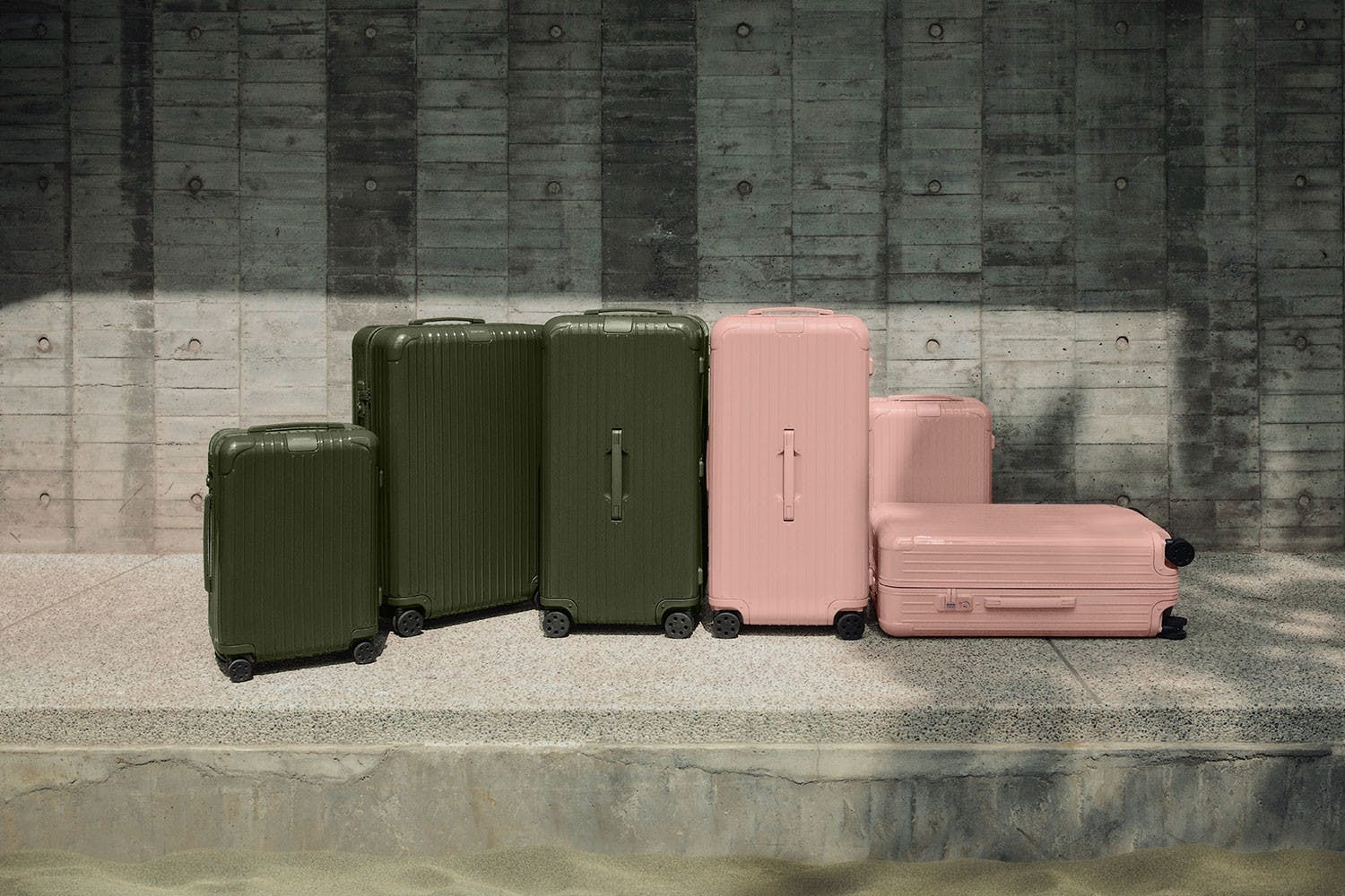 RIMOWA ESSENTIAL NEW COLORWAYS: NEW DESERT ROSE AND CACTUS