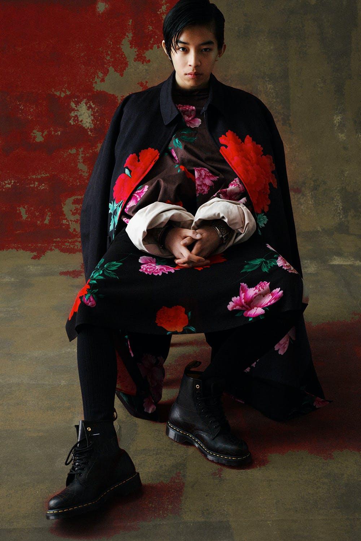 Yohji Yamamoto's Replica line - a reference to designer's Spring Summer 1996 menswear collection.