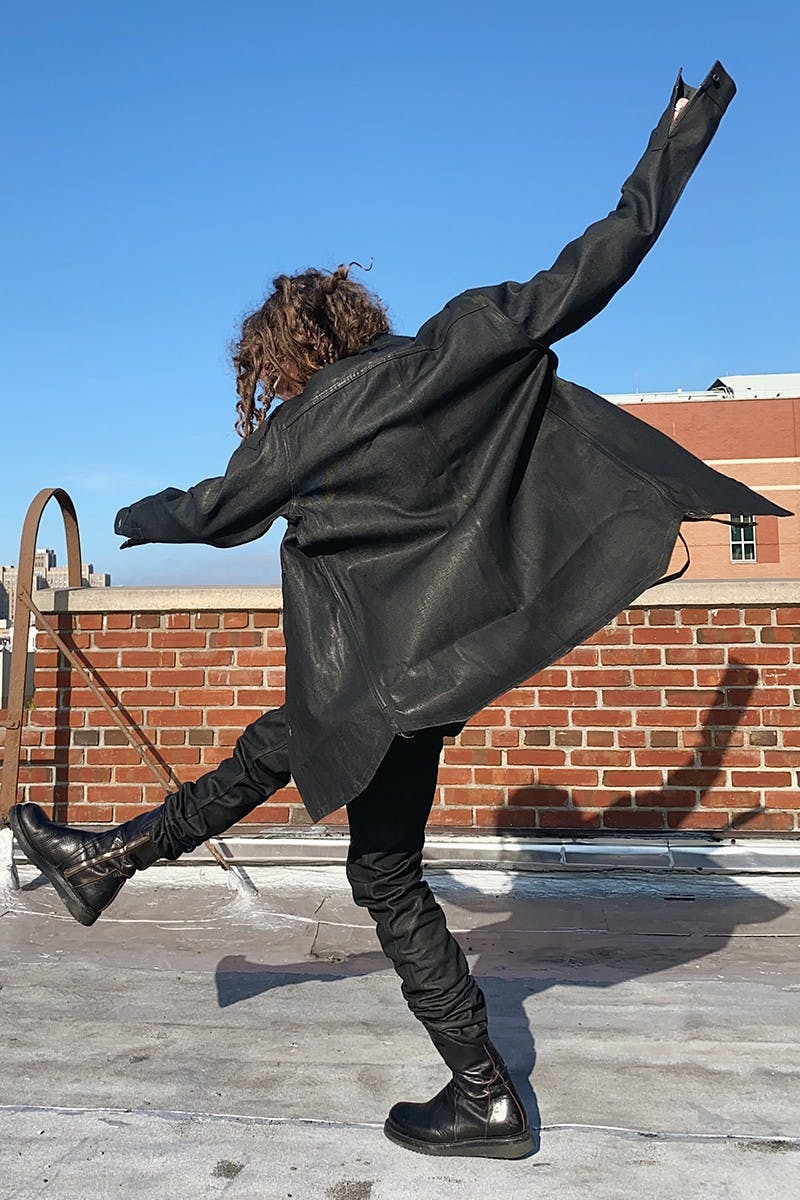 RICK OWENS DROPS PERFORMA FW20 COLLECTION