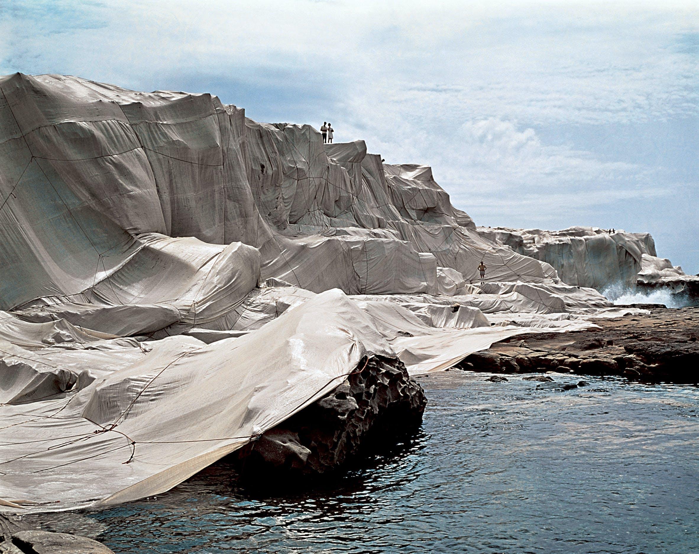 Wrapped Coast, One Million Square Feet, Little Bay, Sydney, Australia, 1969.