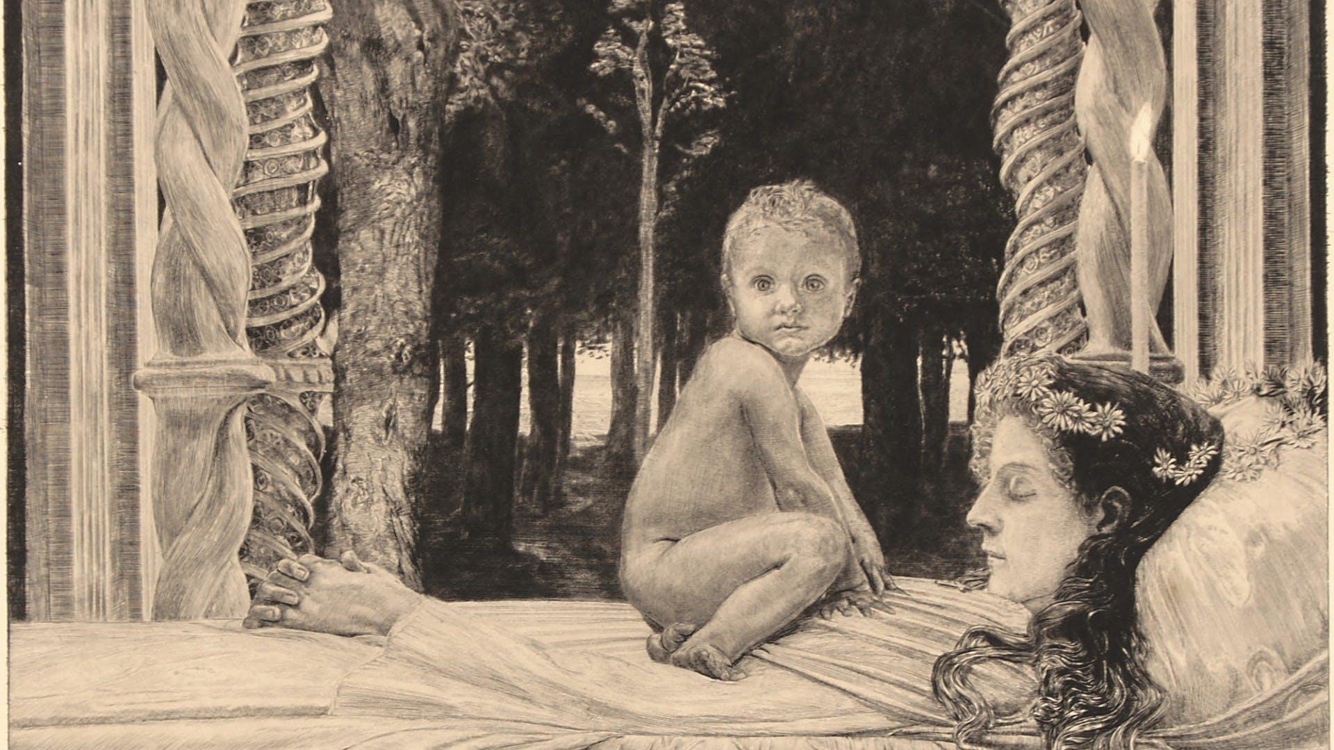 MAX KLINGER: DEAD MOTHER AND CHILD