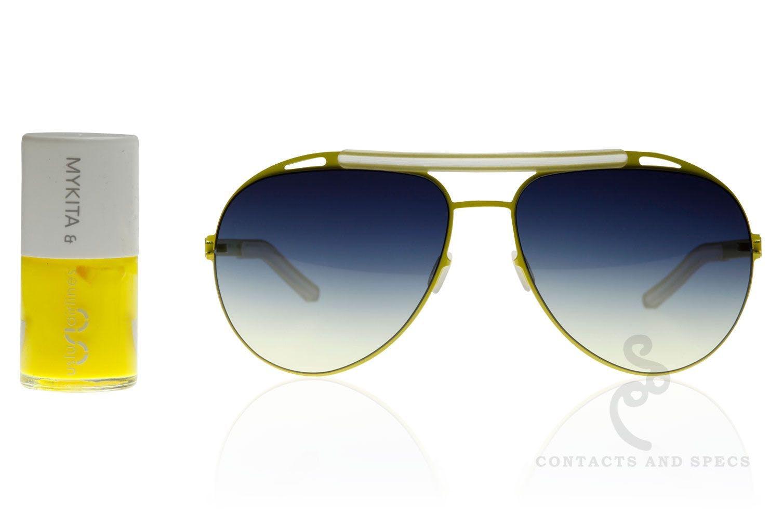 Mykita x Uslu Airlines sunglasses with nail polish