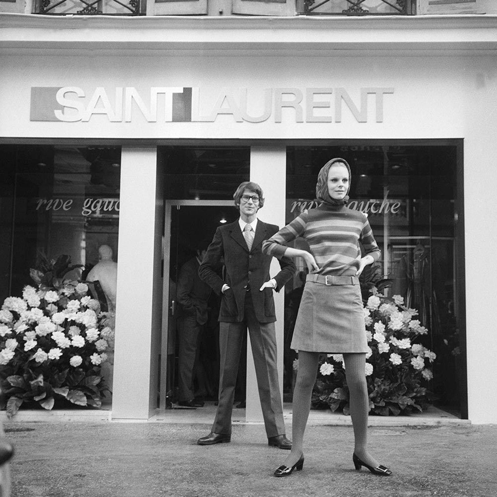 YVES SAINT LAURENT REBRANDING