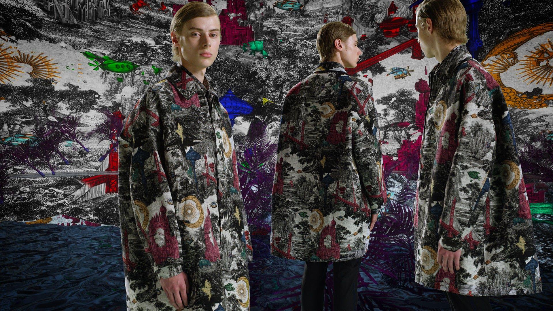 """Valentino """"Dreamatic"""" Fall 2020 campaign."""