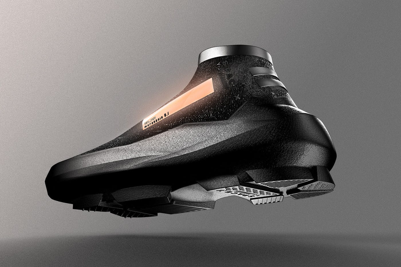 Elon Musk SpaceX: Y-3 x SpaceX sneaker concept.