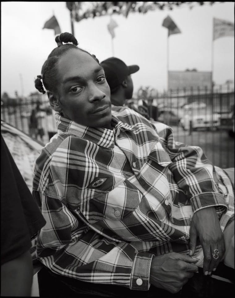 Snoop Dogg by Mark Seliger.