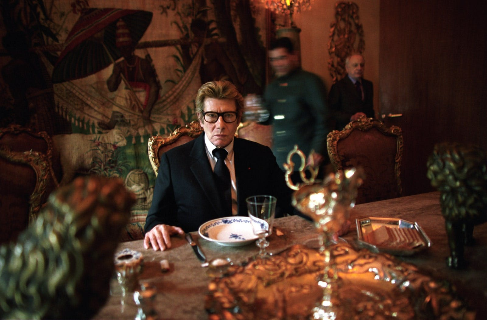 INSIDE YVES SAINT LAURENT'S PARIS APARTMENT