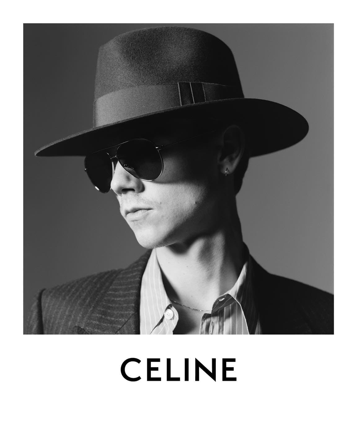 CELINE 'PORTRAIT OF AN ACTOR' SPRING 2021 AD CAMPAIGN WITH THOMAS BRODIE-SANGSTER
