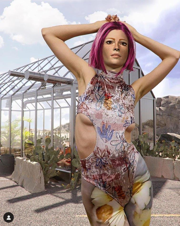 AXD: the first virtual Flashforward fashion campaign.