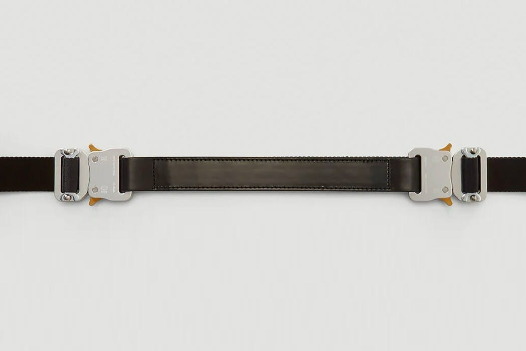 1017 ALYX 9SM DROPS DOUBLE-BUCKLE ROLLERCOASTER BELT