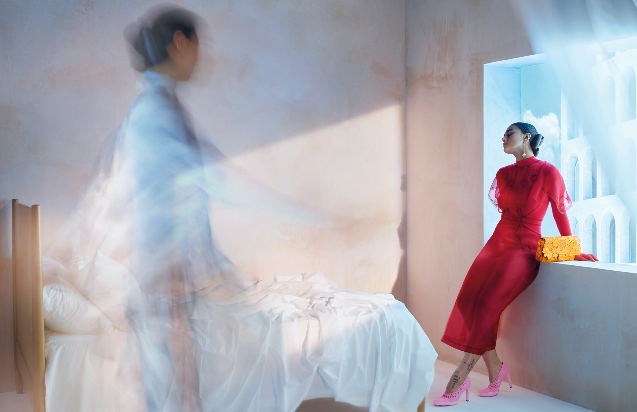 FENDI SPRING 2021 AD CAMPAIGN BY NICK KNIGHT