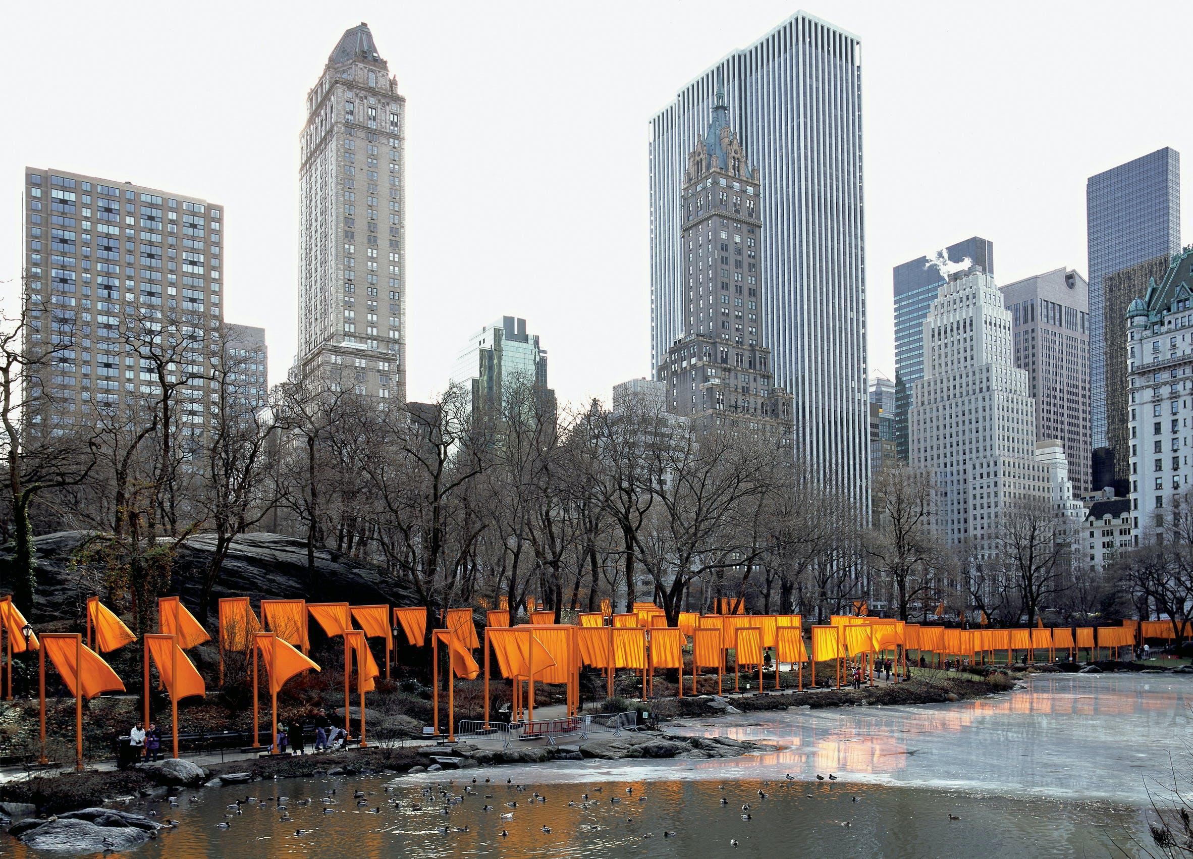 The Gates, Central Park, New York City, 2005.