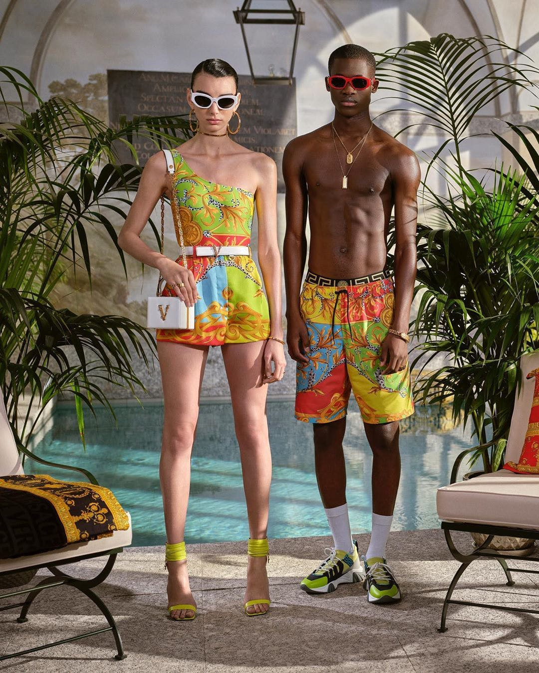 Versace Summer 2020 Capsule collection.