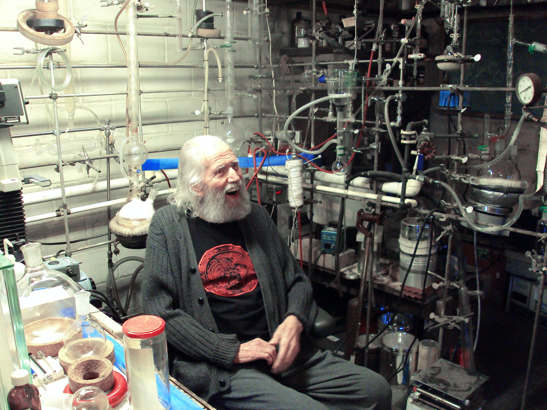 Sasha Shulgin's Basement Lab The Father Of MDMA