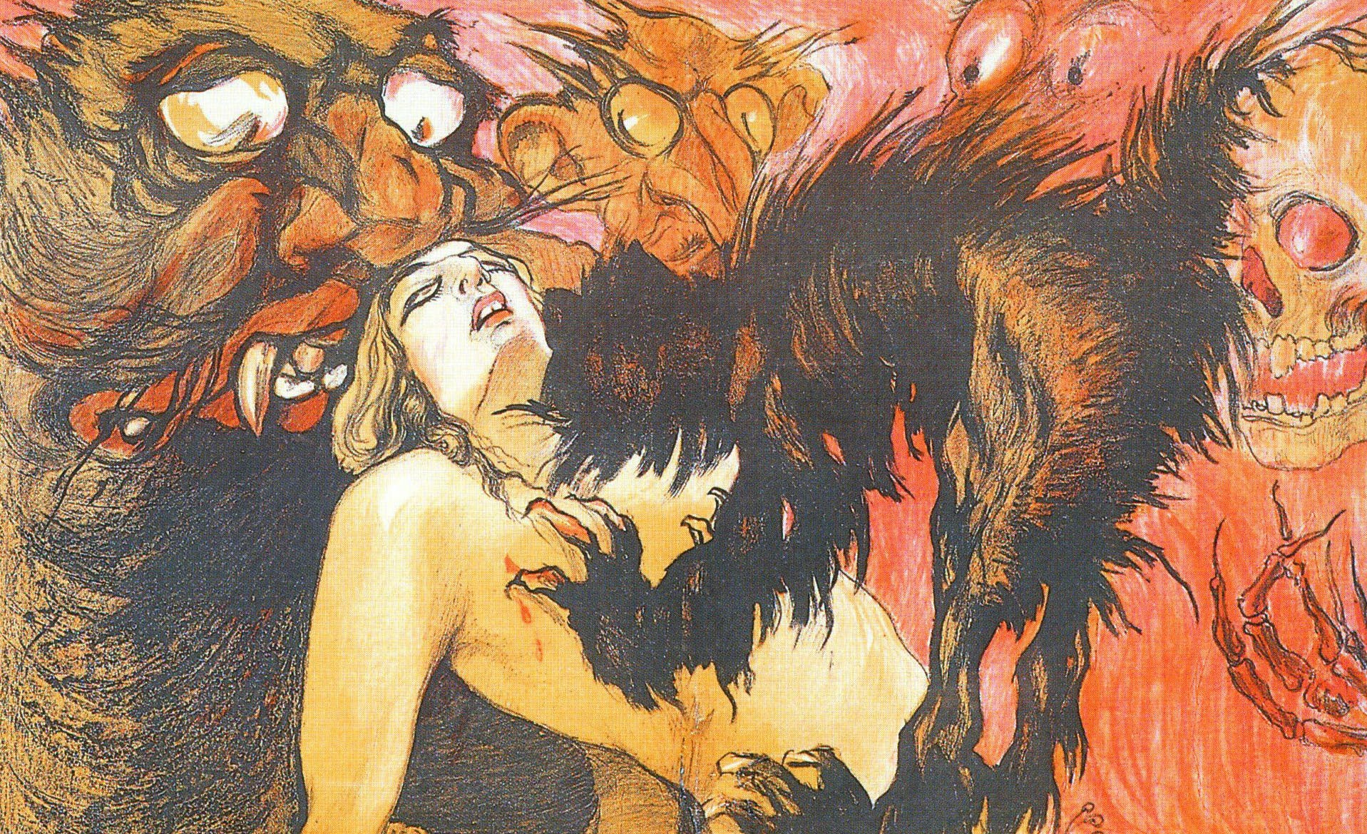 CREEPY EROTIC MOVIE POSTERS OF LATE IMPERIAL RUSSIA