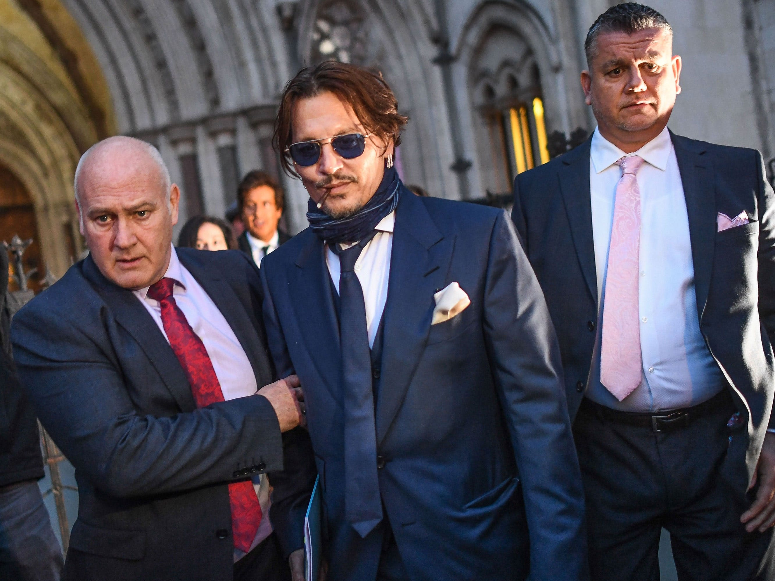 Johnny Depp Claims He Is Being Boycotted By Hollywood