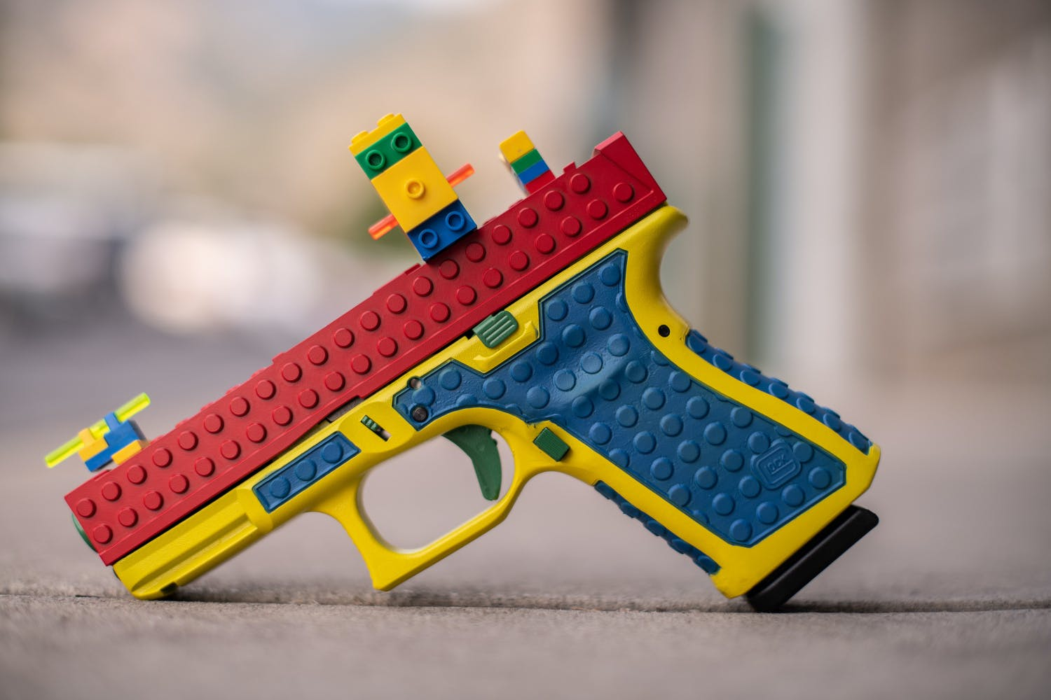 Gun Resembling Lego Toy Sparks Backlash in the US