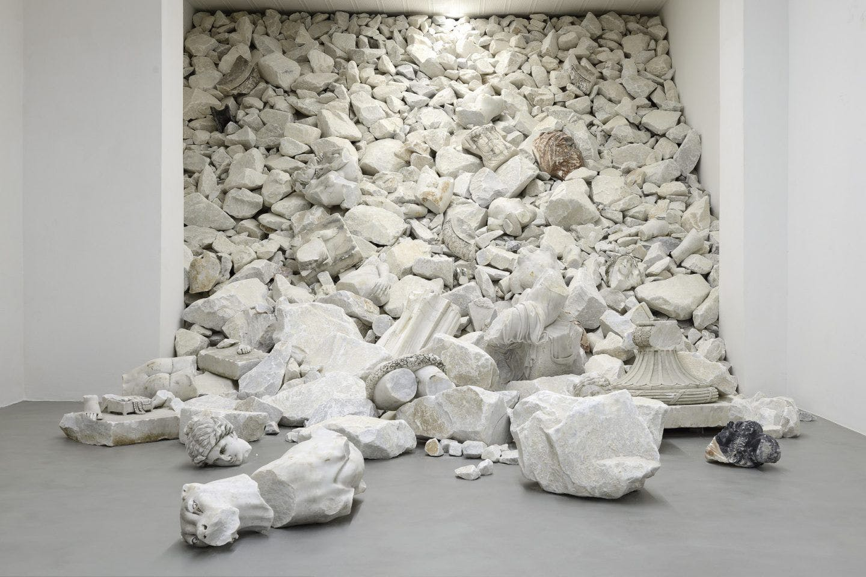 Fabio Viale - A story of degradation and restoration.