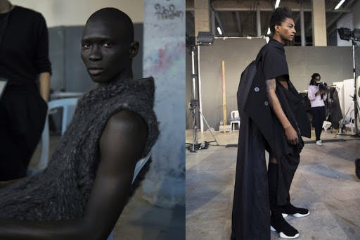 CREATE AN ANDROGYNOUS, GENDERLESS TRIBE: OWENS'S IMAGINATIVE DRAPING