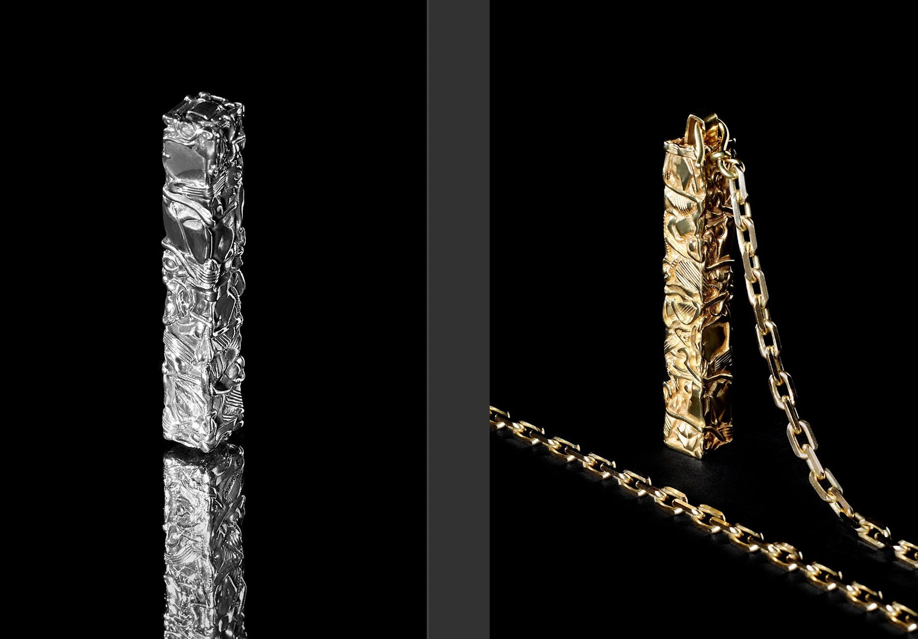 CELINE X CÉSAR BALDACCINI: THE LIMITED-EDITION COMPRESSION PROJECT NECKLACES