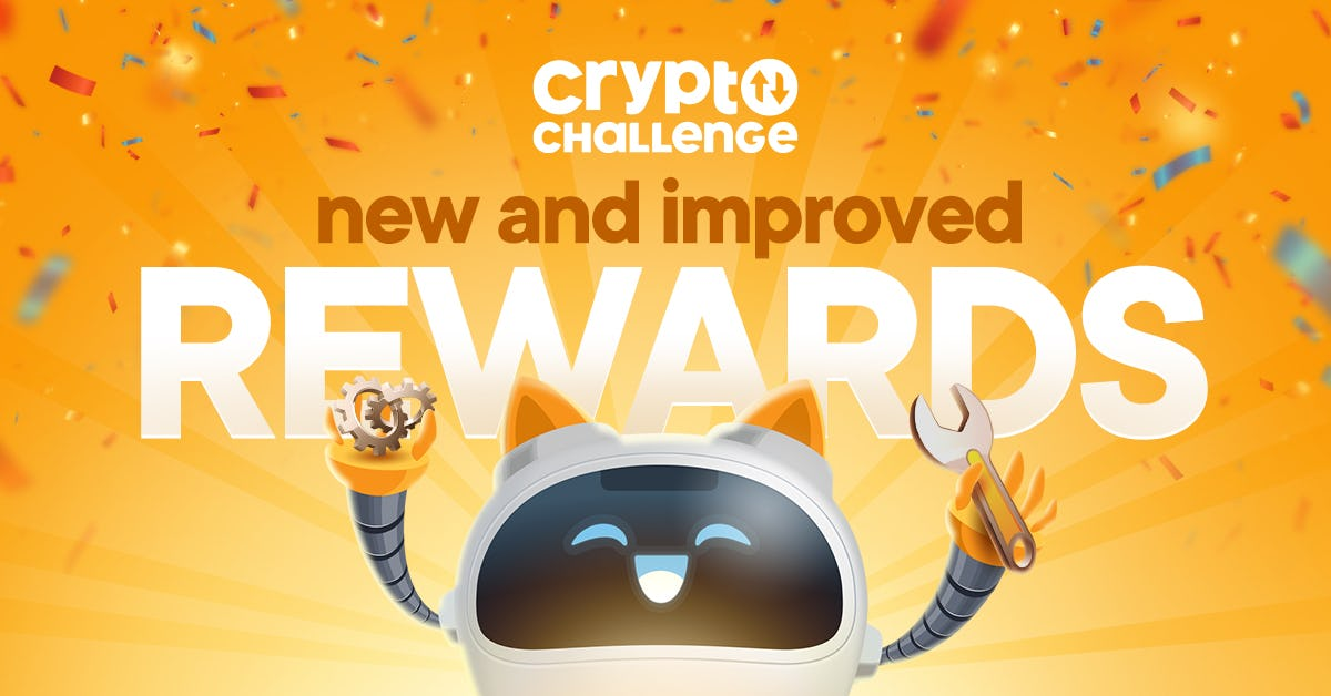 Crypto Challenge Referral rewards update