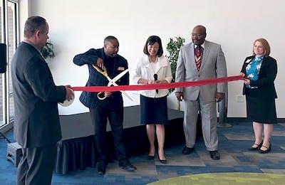 CSU Global new building ribbon cutting