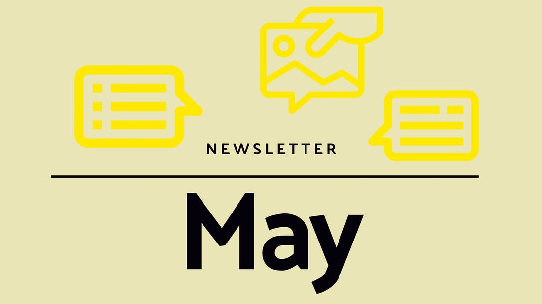 Monthly newsletter - May 2021