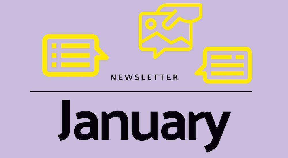 Monthly newsletter - January 2021