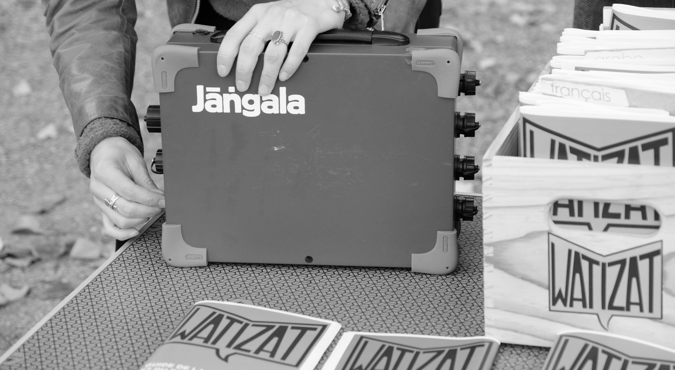 Jangala Big Box in deployment
