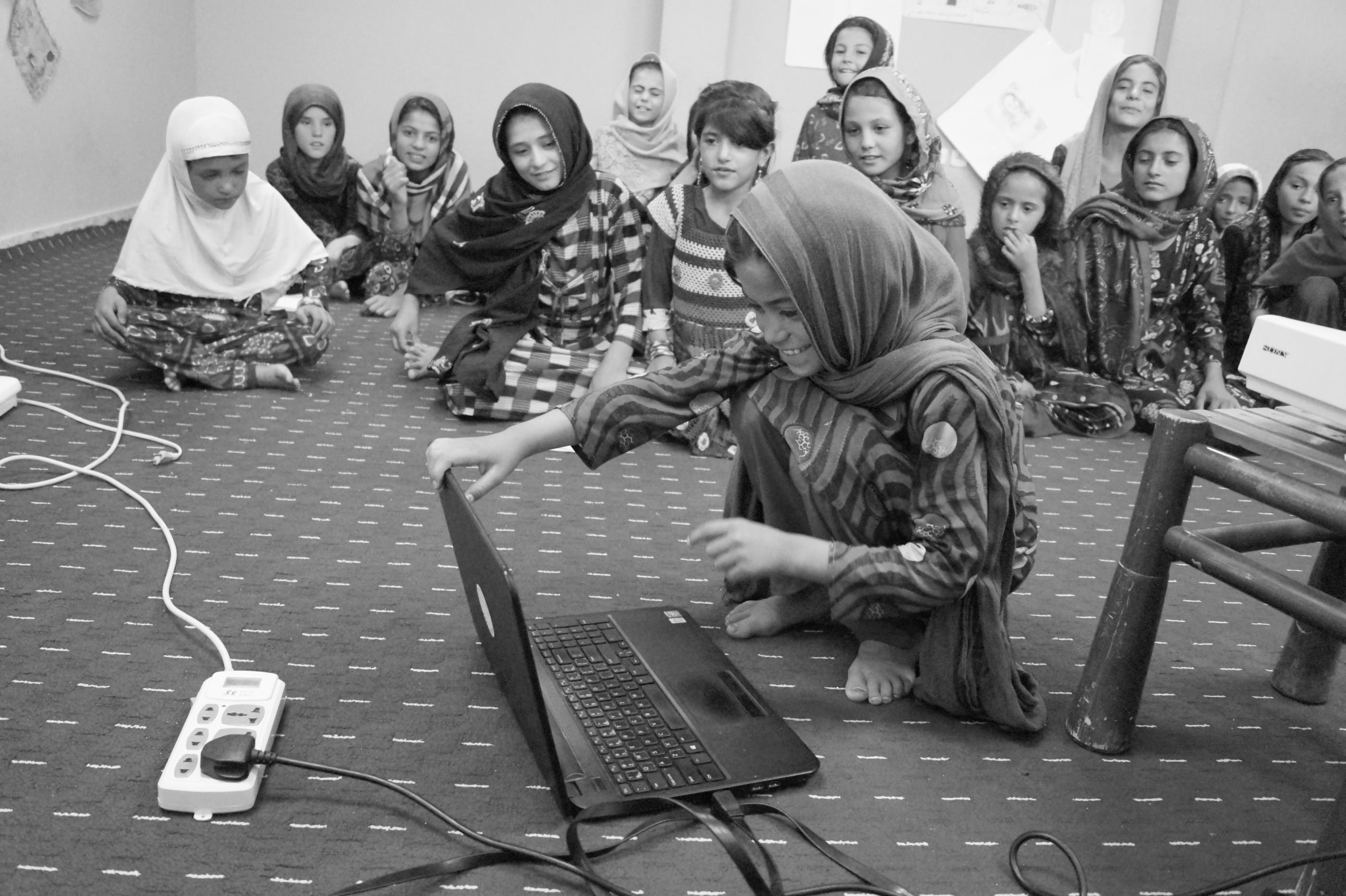 School girls in Afghanistan
