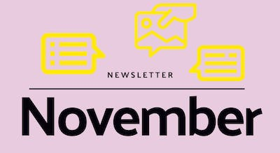 Monthly newsletter - November 2020