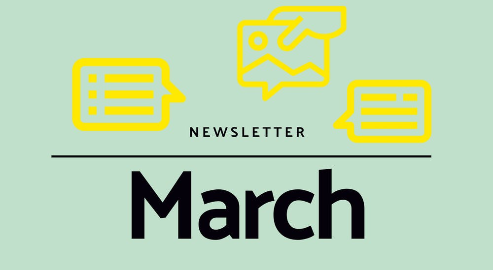 Monthly newsletter - March 2021