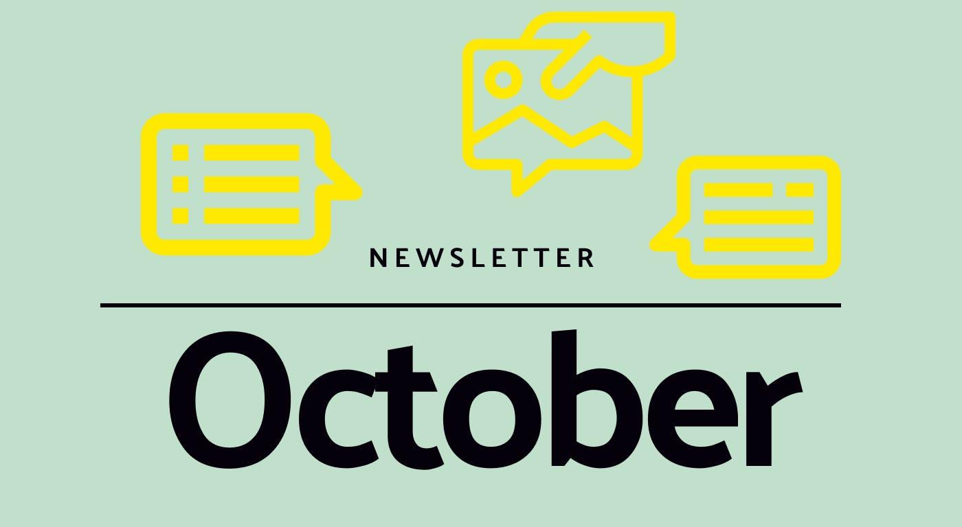 Newsletter for October