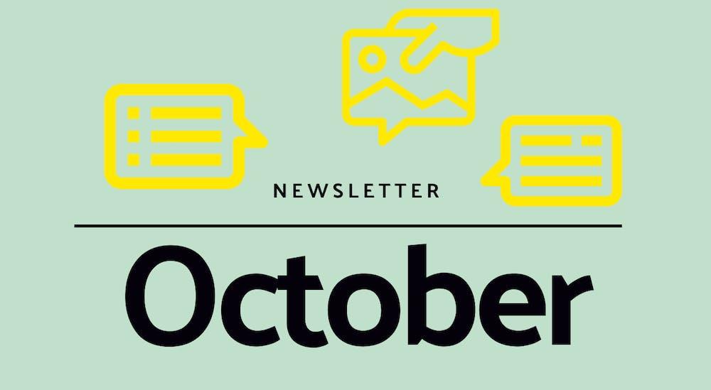 Monthly newsletter - October 2020