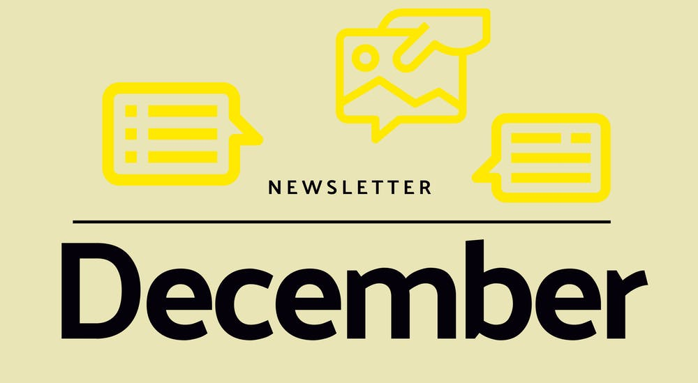 Monthly newsletter - December 2020