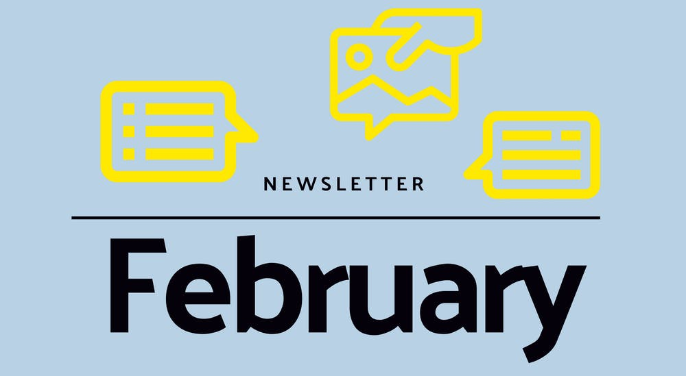 Monthly newsletter - February 2021