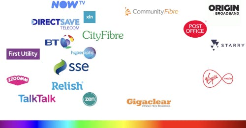 Internet service provider comparison