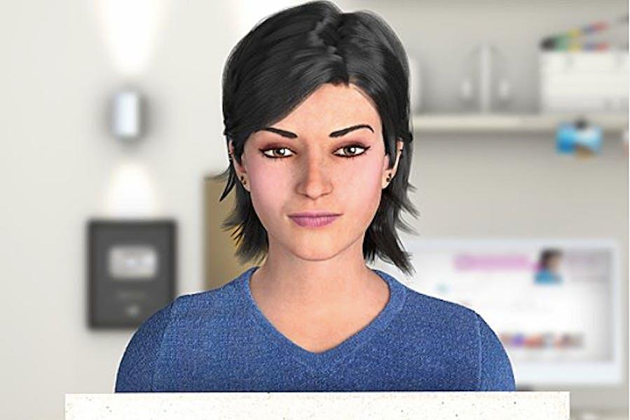 Assistente virtual da Mgazine Luiza