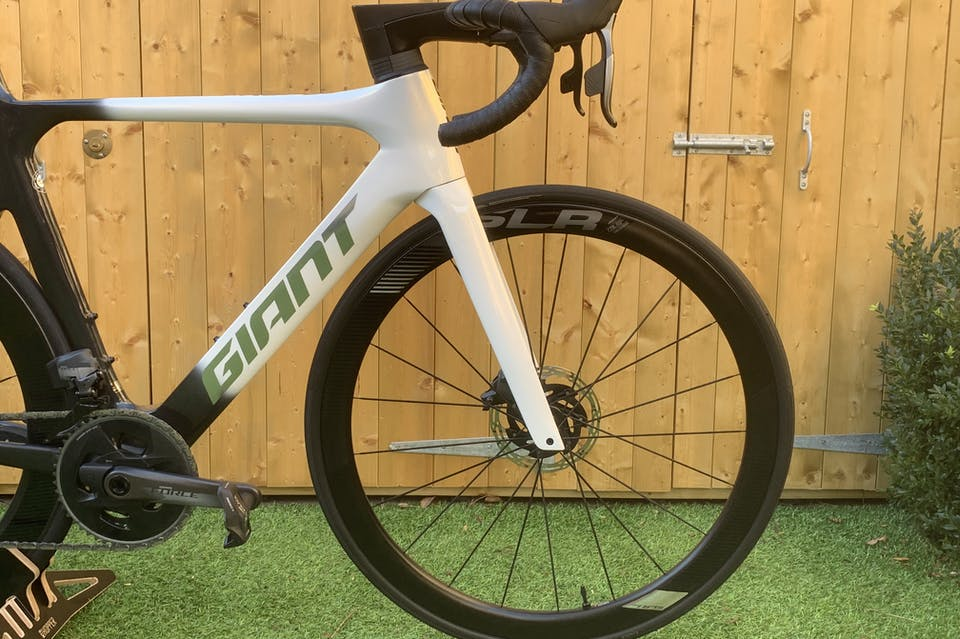 Side of bike