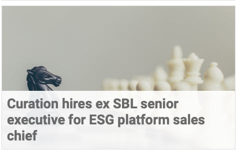Securities Lending Times: Curation hires ex SBL senior executive