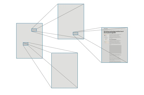 The World Wide Web is just hyperlinked text documents.