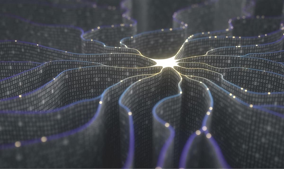 Abstract data integration illustration
