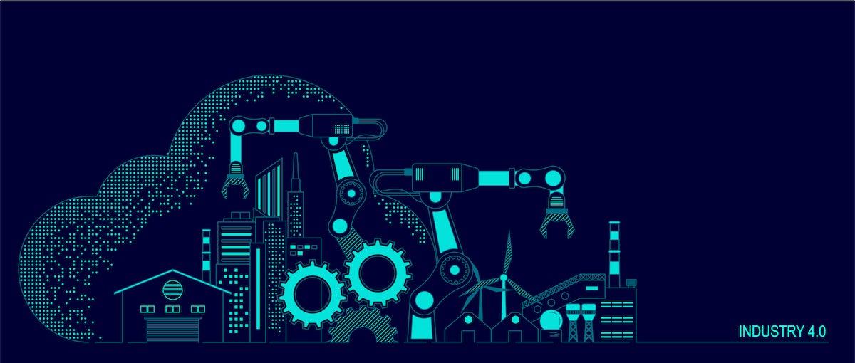 IIoT hardware development illustration