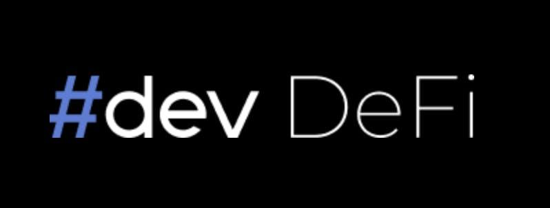 #dev DeFi logo