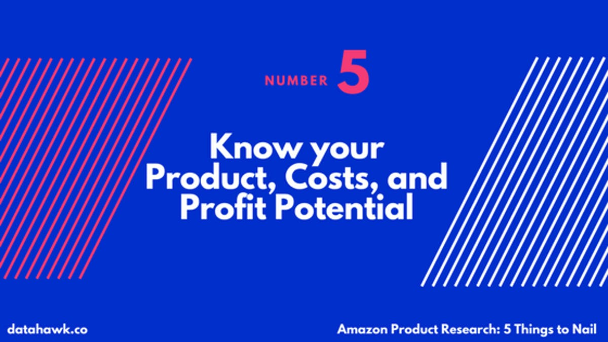 Product Research and Market Analysis on Amazon with DataHawk