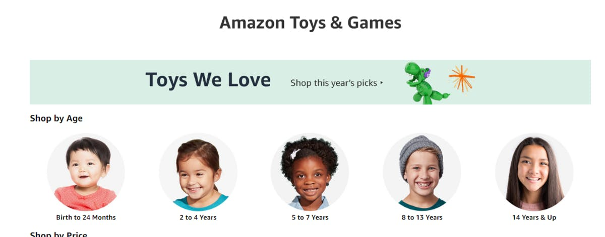 Toys & Games: Advanced Search Features