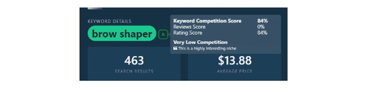 Identify your top competition on Amazon with DataHawk