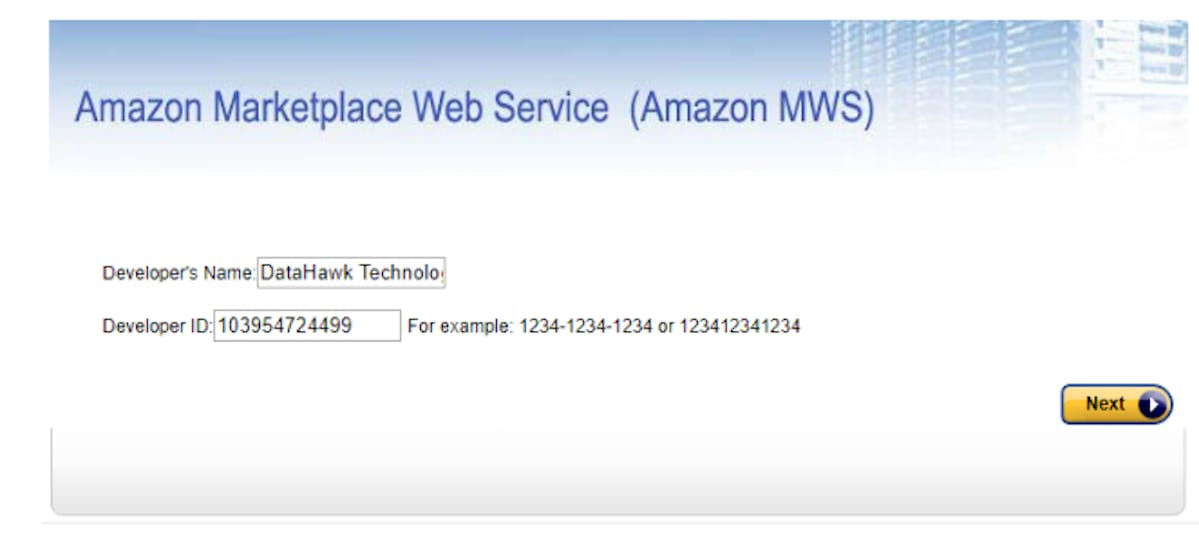 DataHawk : Amazon Marketplace Web Service