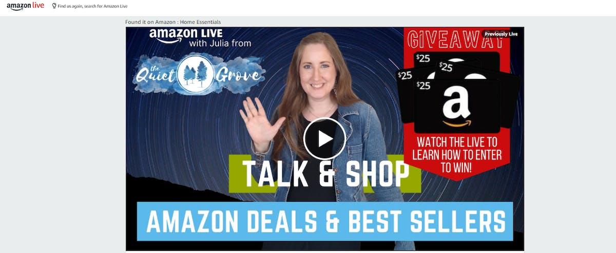 Amazon Influencer Program to get Verified Reviews