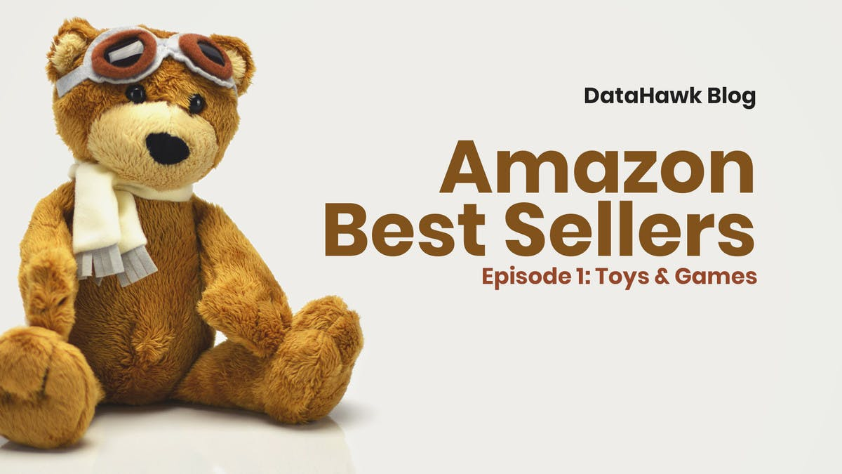 Amazon BSR Study: Toys & Games